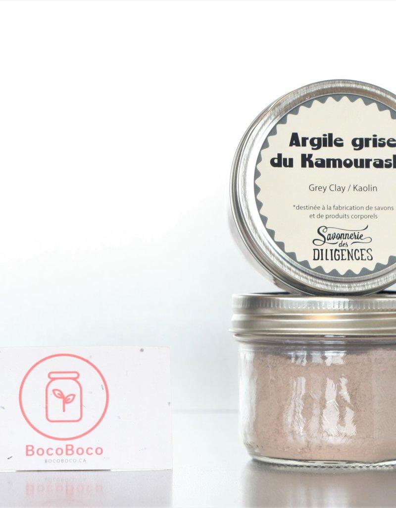 Savonnerie des Diligences Argile grise (100gr)