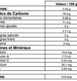 Genesis food Raisins Thompson - Biologique  - (500gr et 1 kg)