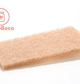 Éco Zéro Déchet Tampon à récurer à base de coquilles de noix.