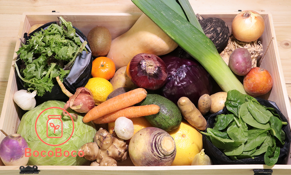 Fruits et légumes frais BocoBoco livrés à Montréal