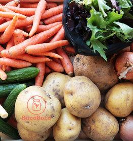 Les Jardins de Stéphanie Panier de légumes locaux - Le classique