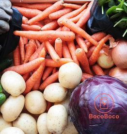 Les Jardins de Stéphanie Panier de légumes 40$
