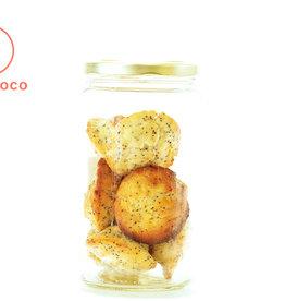 Les Ah de Line Bouchées muffin citron et pavot (8 pièces) - Disponible Jeudi/Vendredi