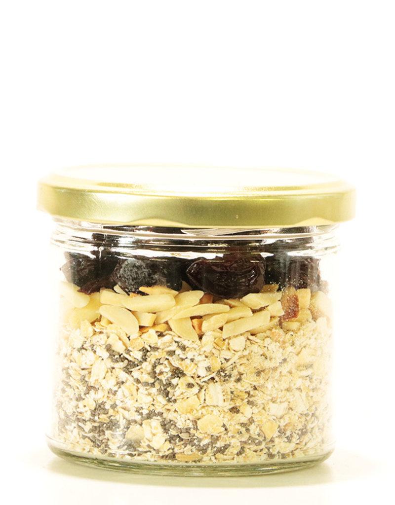 Les Ah de Line Gruau des matins pressés cerises - amandes (105 gr)