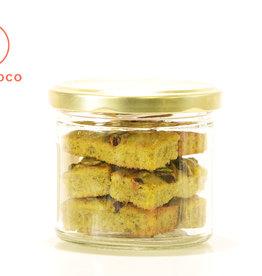Les Ah de Line Mini financiers pistaches et baies de Goji (6 pièces)