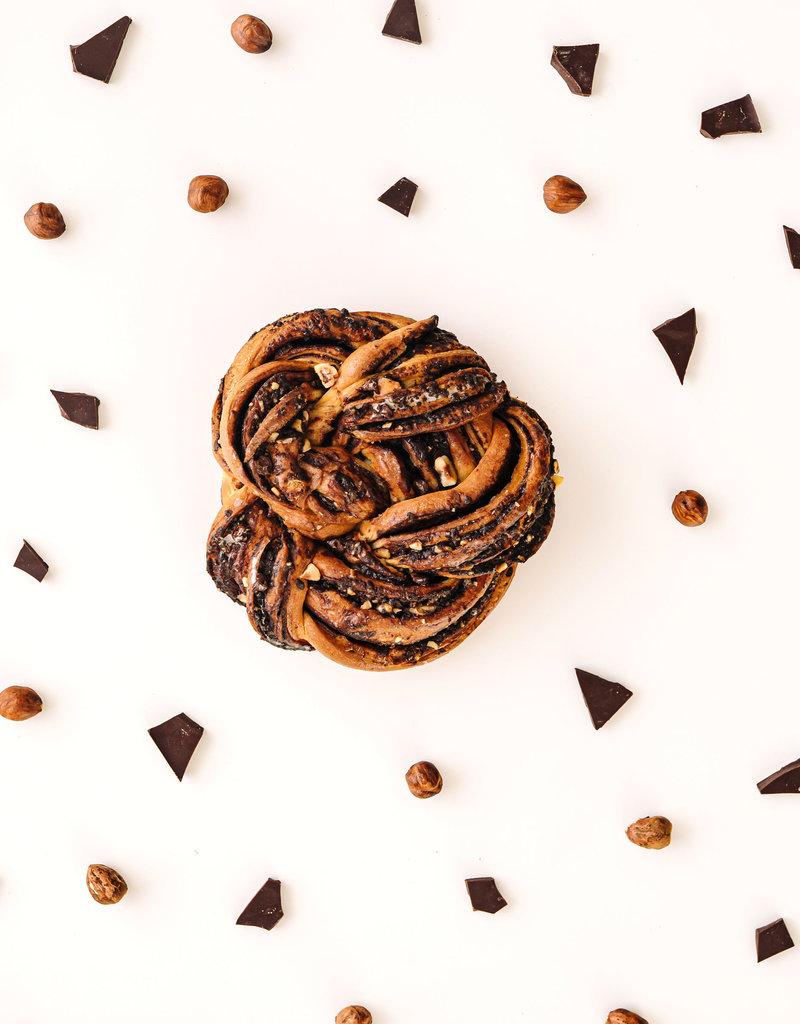 Maison BonBec Babka Roll individuelle - Chocolat/Noisettes