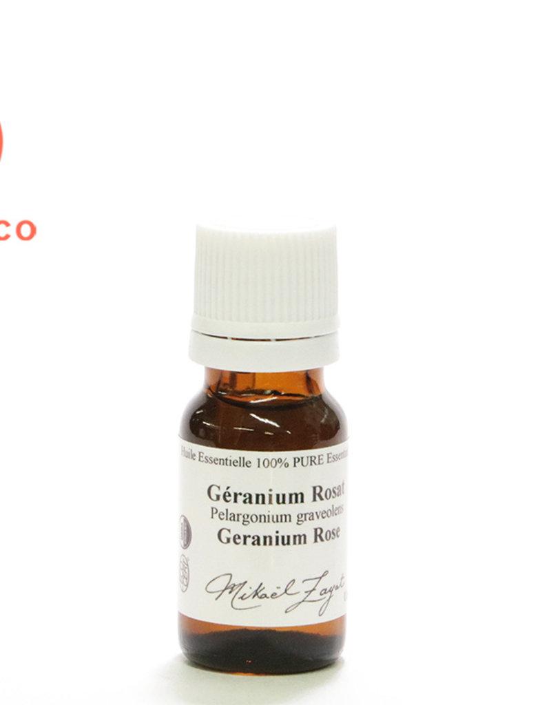 Zayat Aroma Inc. Huile Essentielle de Géranium Rosat biologique Égypte (11ml)