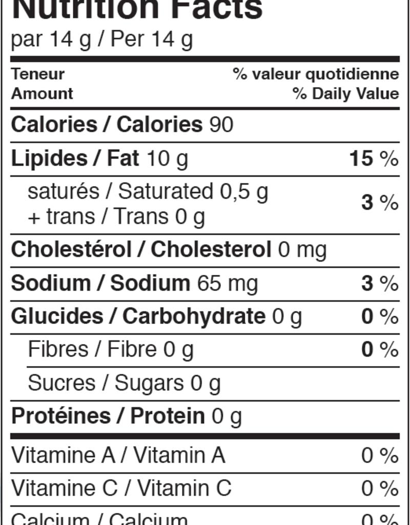 Aliments Mi Corazon Mayonnaise végétalienne Nature (250 mL)