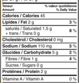 Aliments Mi Corazon Cretons végétaliens (250 ml)