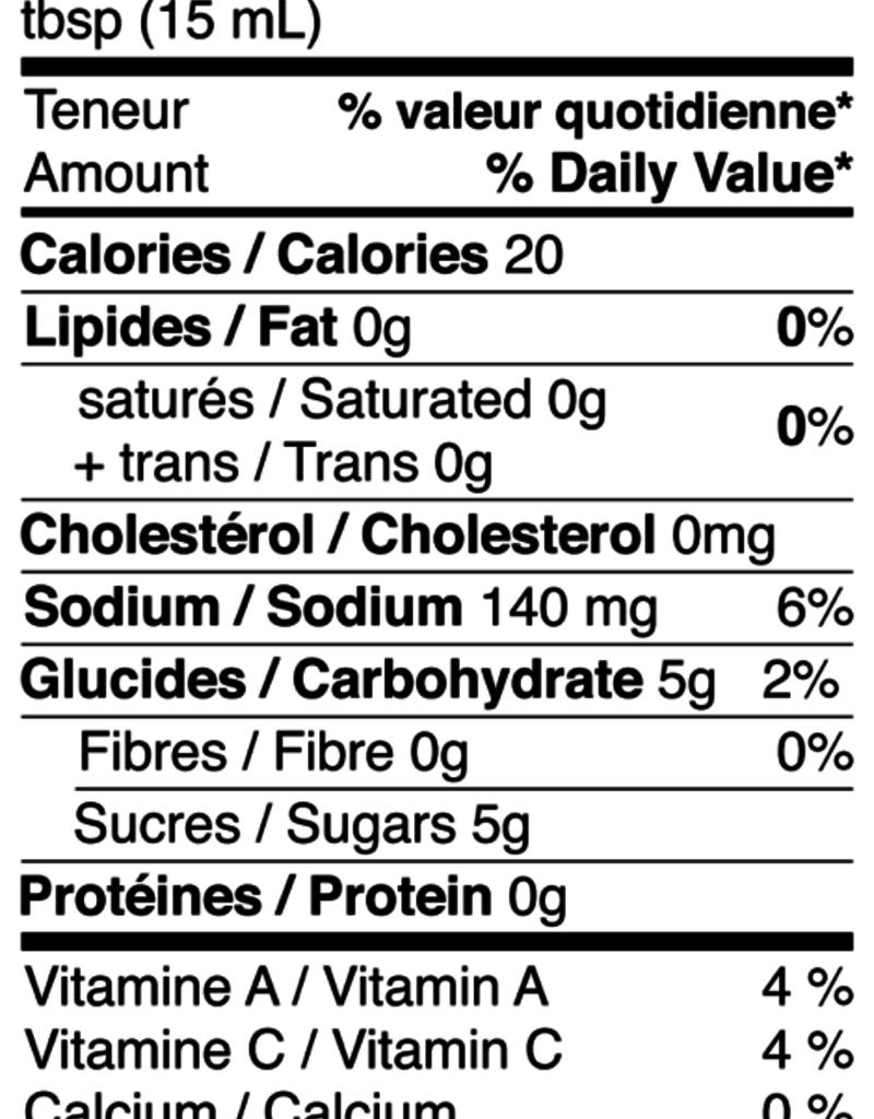 Aliments Mi Corazon Ketchup Classique (350 mL)