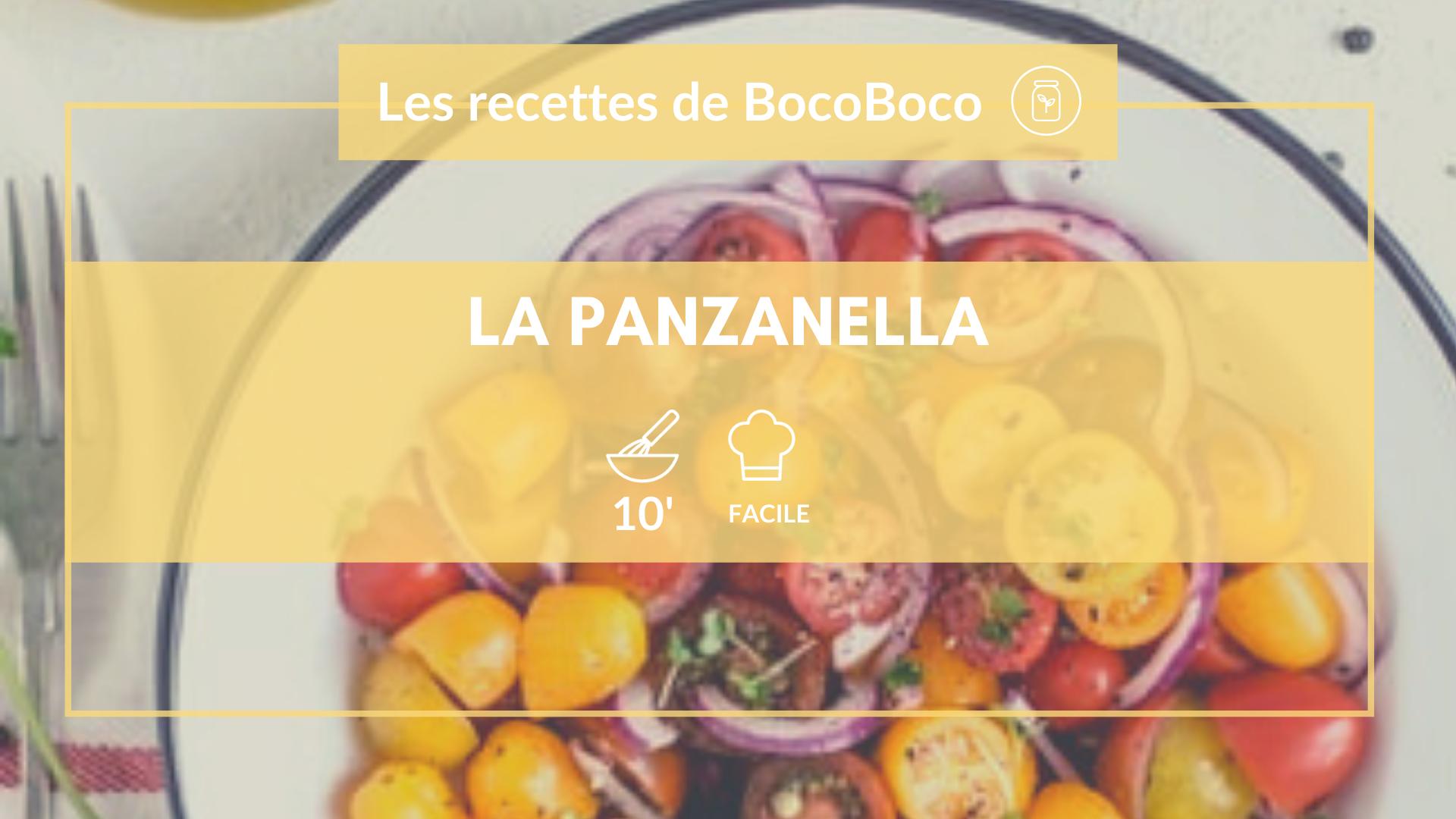 Recette de panzanella