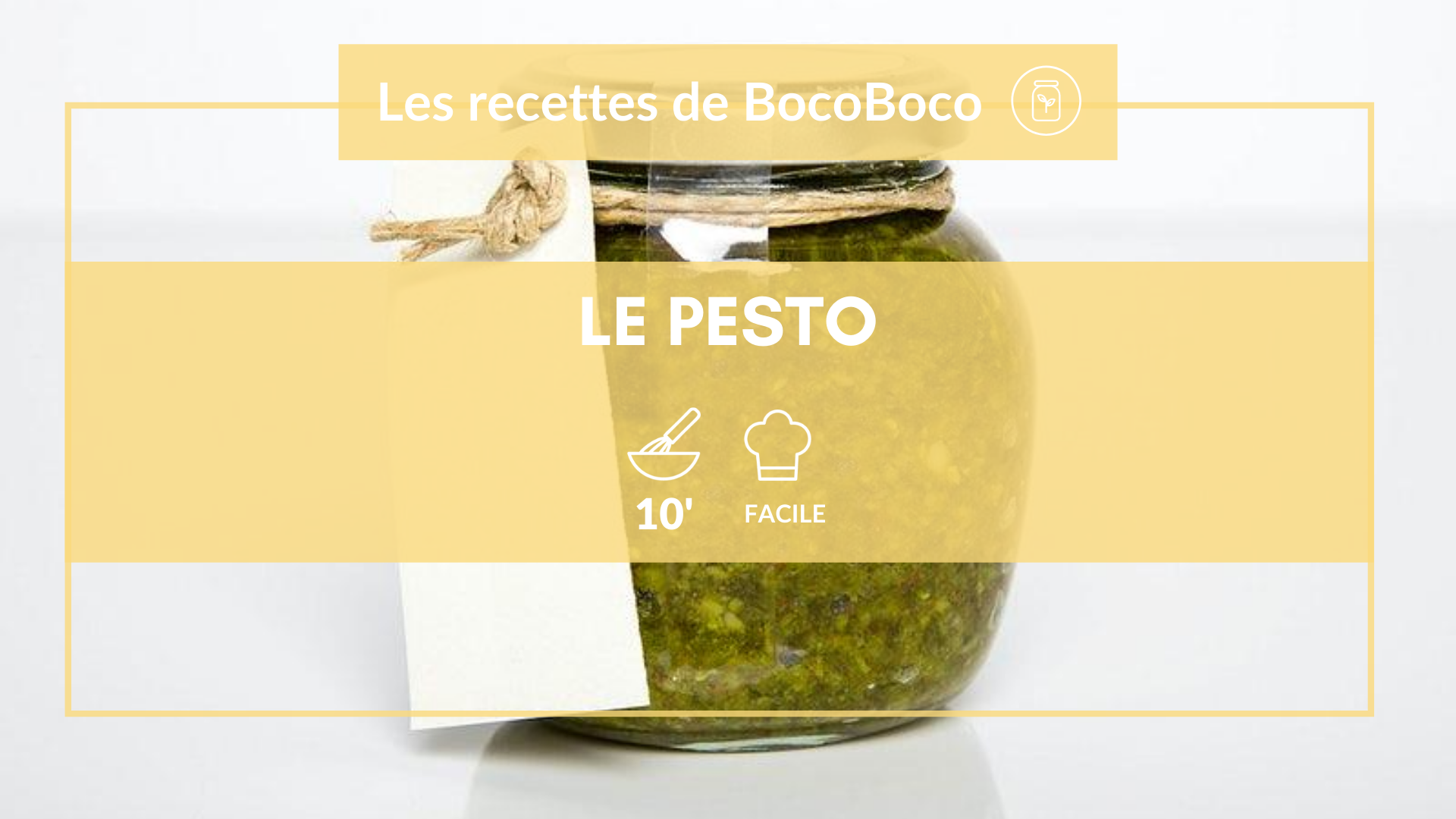 Faire son pesto maison