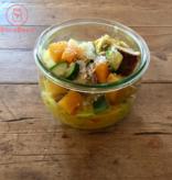 Bocobistro Sauté de poulet coco-cari, riz madras et légumes (375 gr)