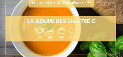 Recette de la soupe des 4 C