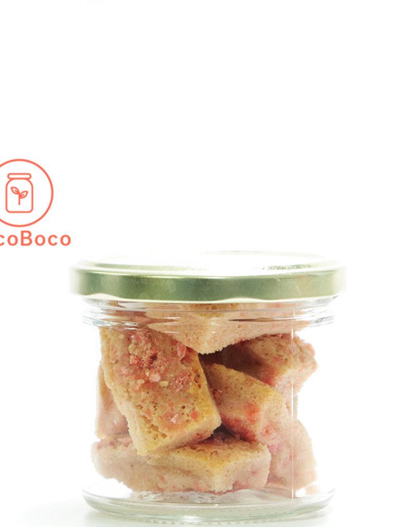 Les Ah de Line Mini financiers pralines roses et cardamome (6 pièces)