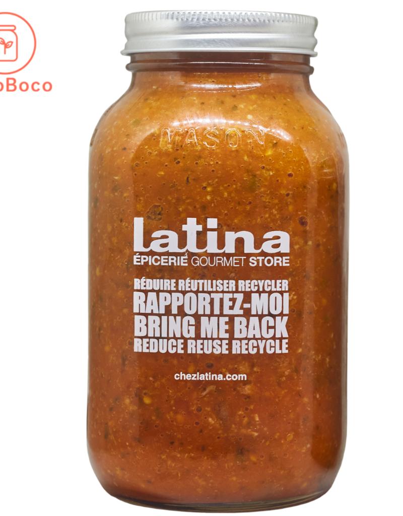 Latina - sauces et soupes prêt-à déguster Sauce Bolognaise (900 mL)