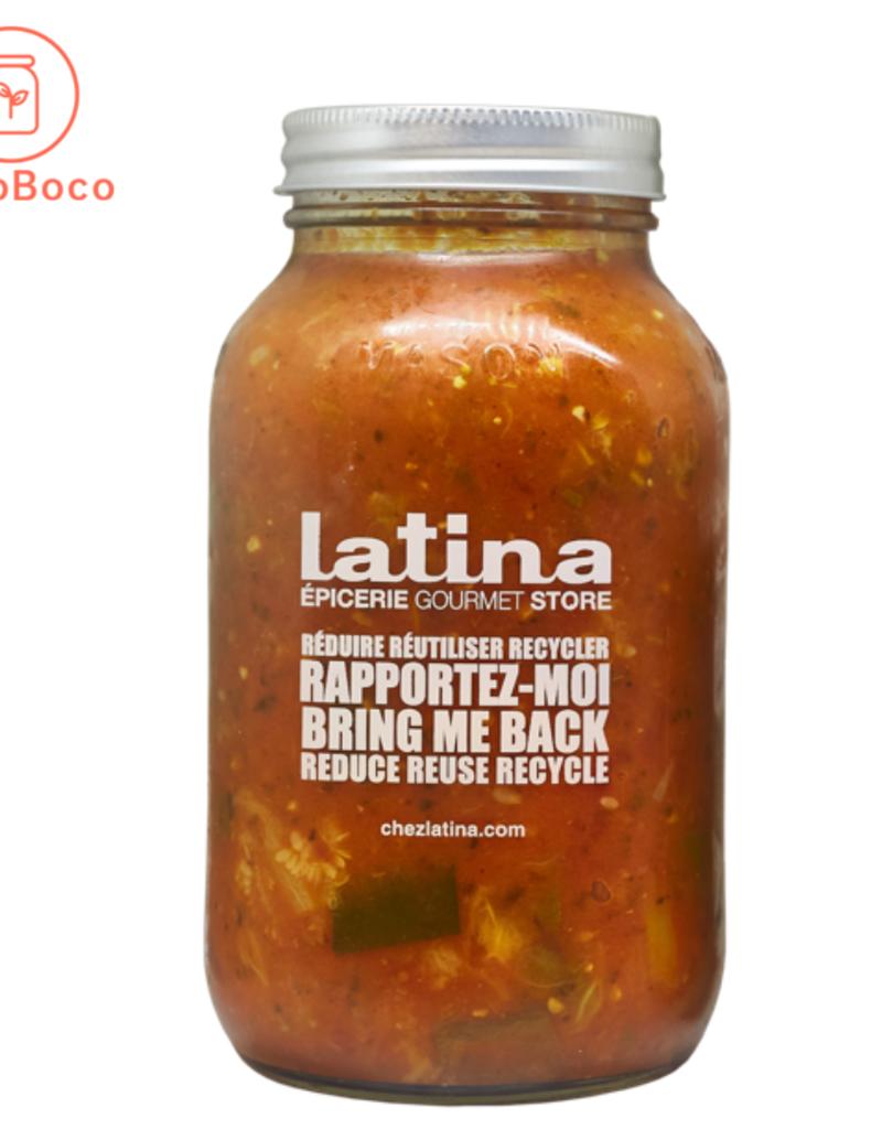 Latina - sauces et soupes prêt-à déguster Sauce Légumes (900 mL)