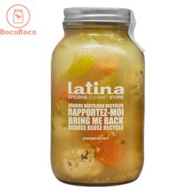 Latina - sauces et soupes prêt-à déguster Soupe Boulettes de poulet (900 ml)