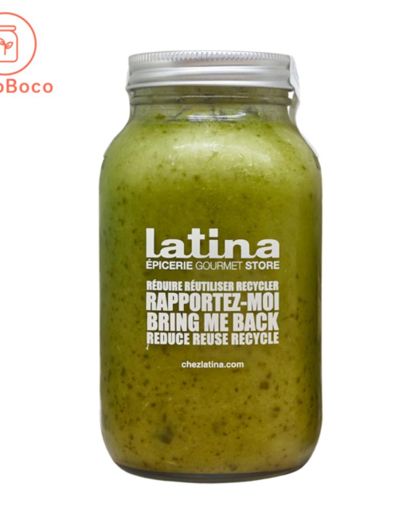 Latina - sauces et soupes prêt-à déguster Soupe Brocolis et épinard (900 ml)