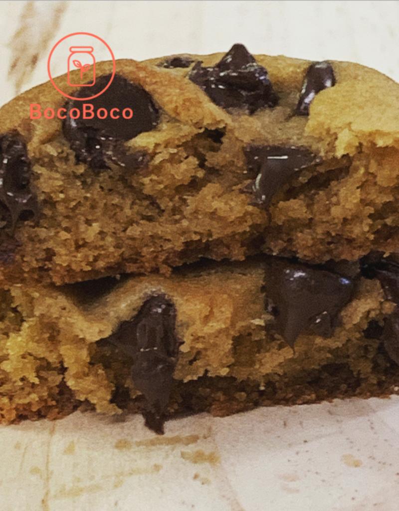 Maison BonBec Mini cookies huile d'olive et chocolat (lot de 6)