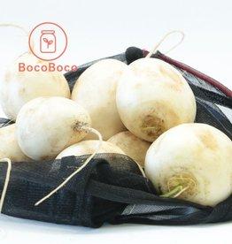 Les Jardins de Stéphanie Mini navet Hakurei (6 - 8 navets blancs)