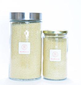 Genesis food Couscous jaune - Biologique (525gr et 1,25kg) - Certifié par Québec Vrai