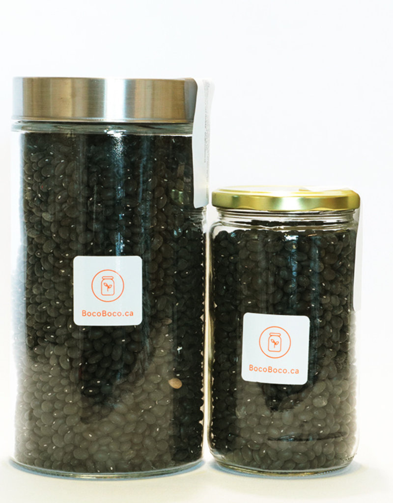 Genesis food Haricots noirs du Québec (600gr et 1,4kg)