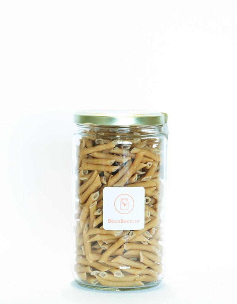 Tootsi Impex Pâtes Penne au blé entier - Biologique ( 270gr et 650gr)