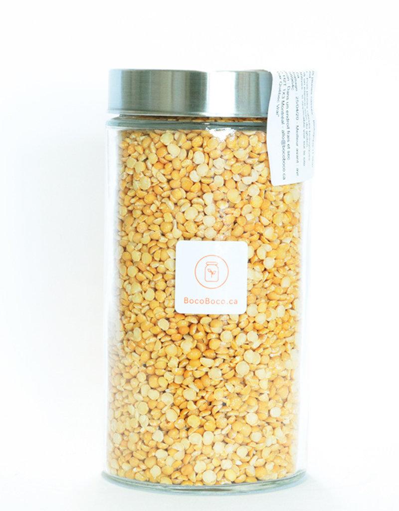 Genesis food Pois jaunes cassés (650gr et 1.5kg)
