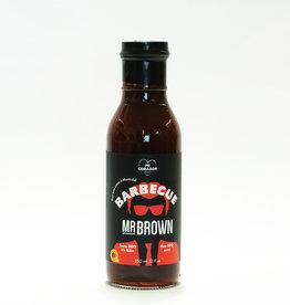 Les Aliments Mi Corazon Sauce BBQ à la bière Mr Brown (350 mL)