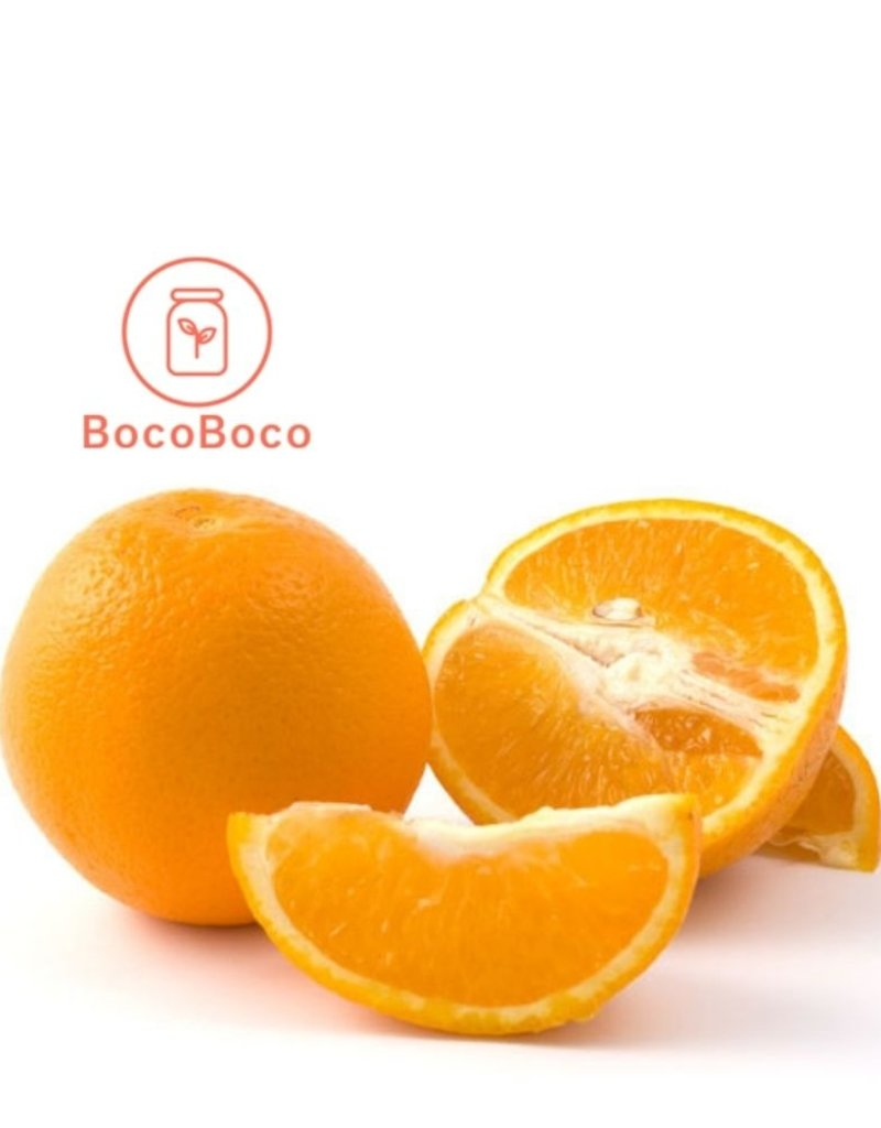 BocoBoco - maître fruitier Oranges Navel- Biologiques, moyennes(lot de 3)