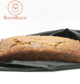 Les Ah de Line Pain banane et chocolat  (6/8 personnes)