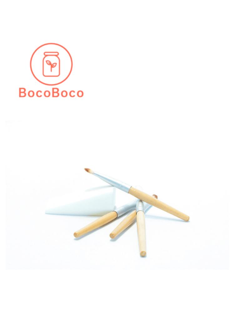 Blum Distribution Set de pinceaux en bambou - 3 unités