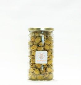 Olive Pressée Olives vertes dénoyautées Provençales (400 gr)