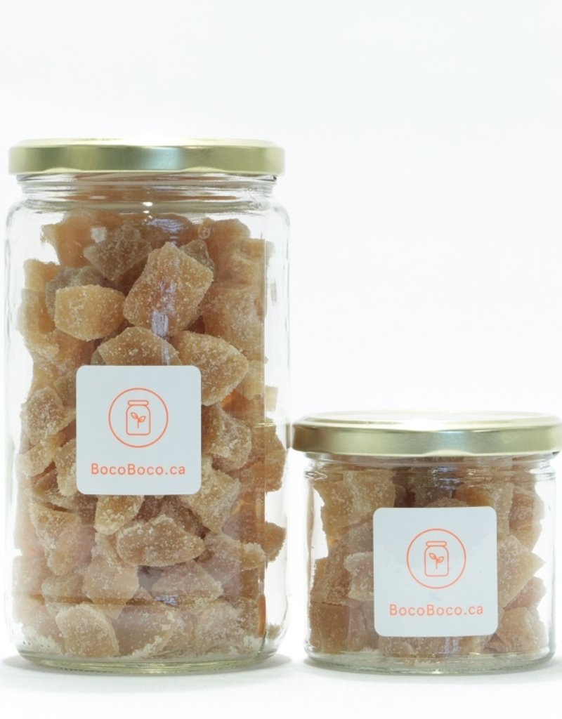 Umano Cubes de gingembre confit (150 gr et 450 gr)