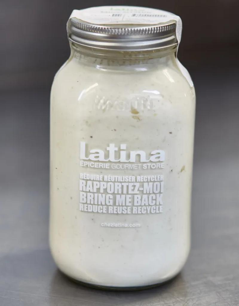 Latina - sauces et soupes prêt-à déguster Sauce Alfredo (900 ml)