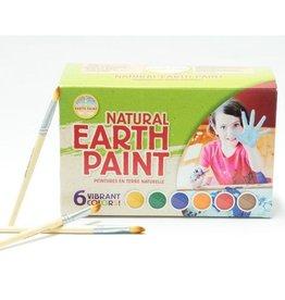 Kit peinture pour enfants - 6 couleurs et pinceaux