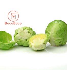 BocoBoco - maître fruitier Choux de bruxelles biologiques (1 lb   - environ 15)