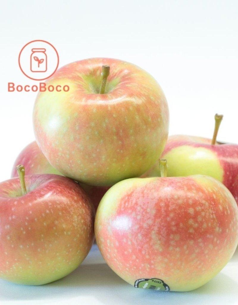 BocoBoco - maître fruitier Pomme biologique du Québec (Paulared), lot de 5