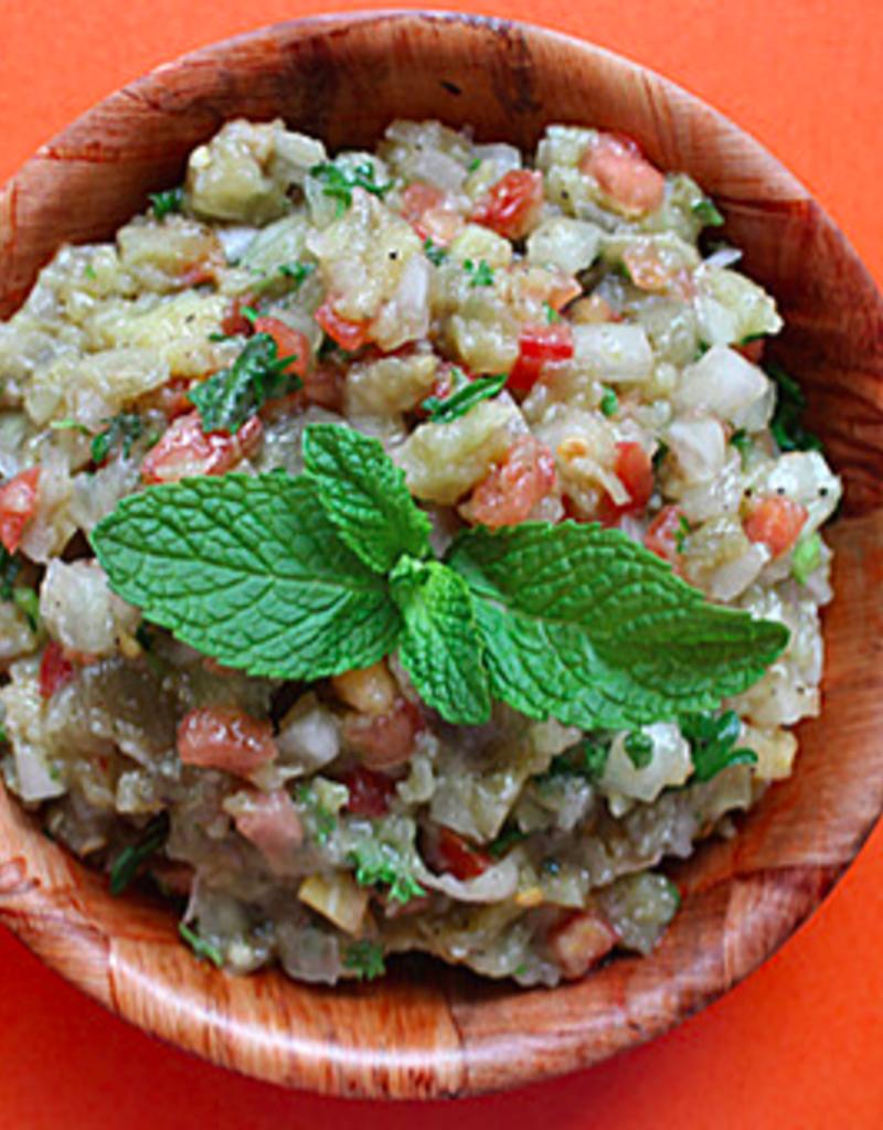 Restaurant Trip de bouffe Salade d'aubergine (250 ml, 500 ml et 750 ml)