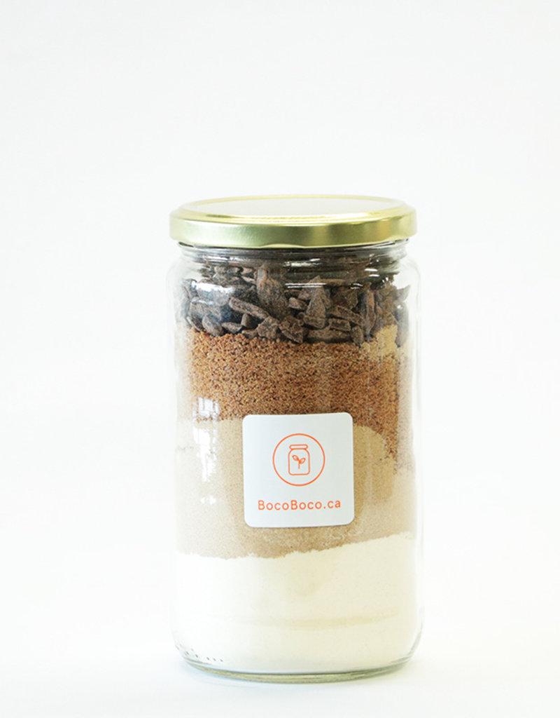 Boco-logique - par BocoBoco Mélange à biscuits à base de farine boomerang - chocolat bio (12 biscuits +)