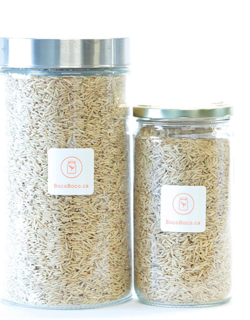 Genesis food Riz basmati brun Biologique (525gr et 1.3kg)