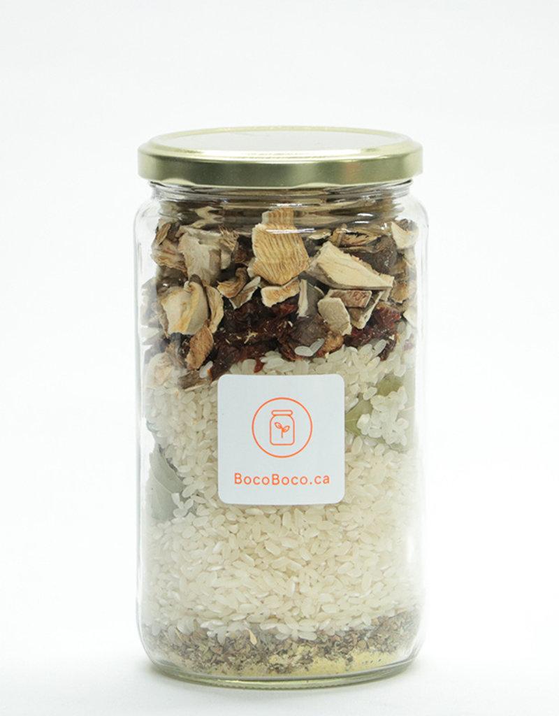 Boco-logique - par BocoBoco Risotto aux shitakés - bocal express - à préparer (4-6 portions) - 500 gr