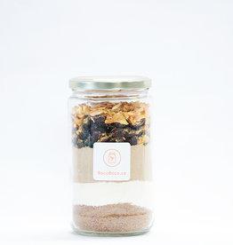 Boco-logique - par BocoBoco Mélange à biscuits à base de farine boomerang (18 biscuits) - oranges et canneberges