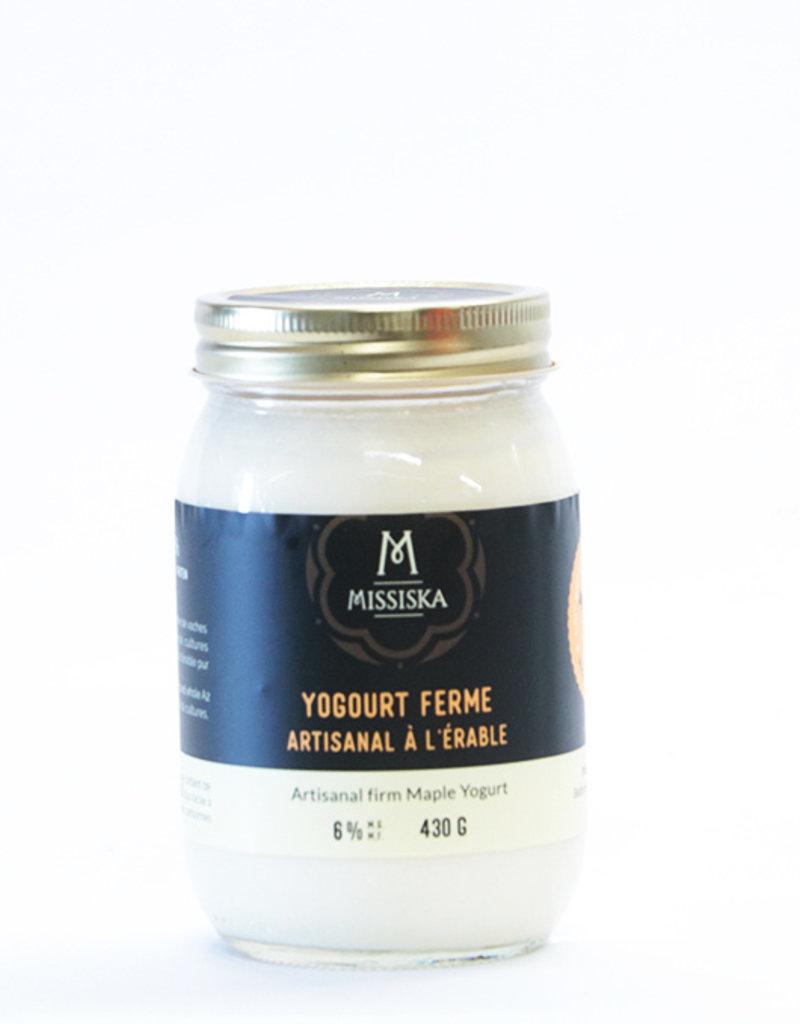 Ferme Missiska Yaourt missiska - érable (430 gr)
