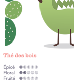 Cactus Kombucha Kombucha thé des bois (330 ml)