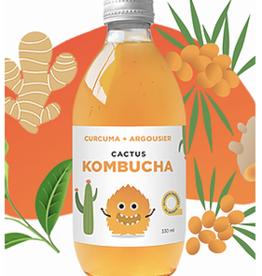 Cactus Kombucha Kombucha curcuma et argousier (330 ml)