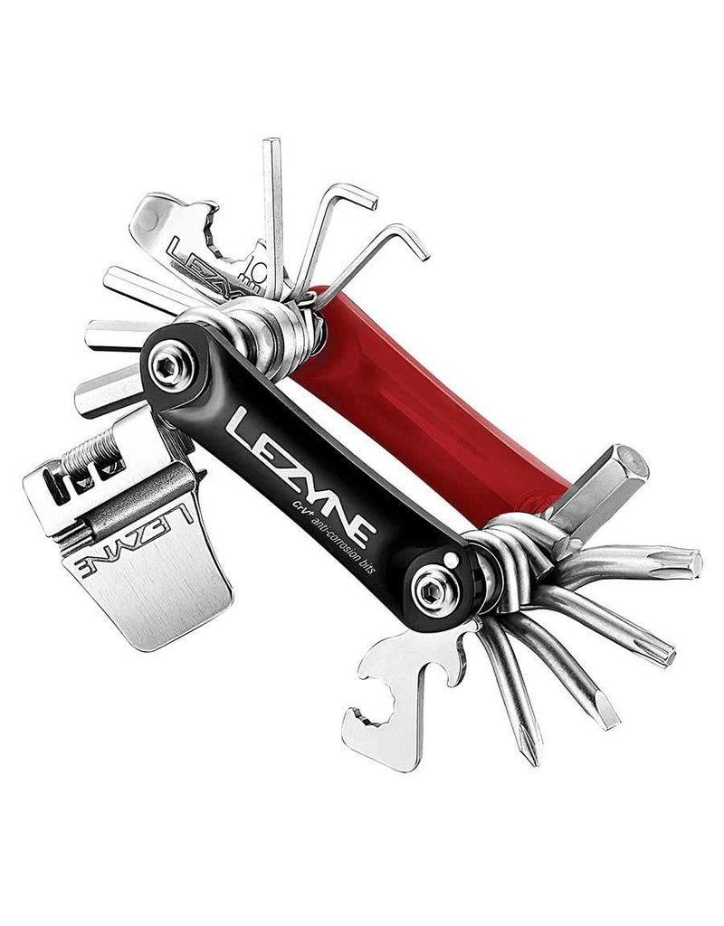 Lezyne RAP 20AL, Multi-outils, Rouge