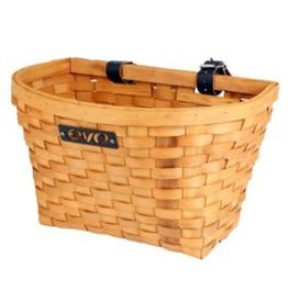 EVO E-Cargo Wood Classic, Front basket