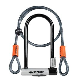 Kryptonite KRYPTOLOK STD & FLEX CABLE 4' AV/SUPPORT F-FRAME